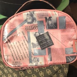 Soap and glory cosmetic bag